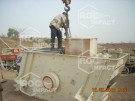 Start of our complete installation in Burkina Faso